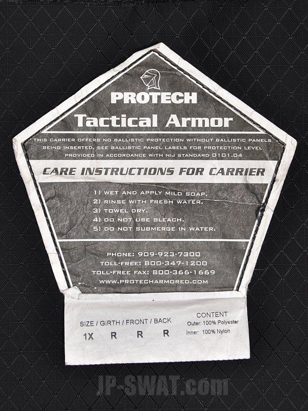 PROTECH(プロテック) TAC 6 PLUS タクティカル・ボディー・アーマー・ベスト