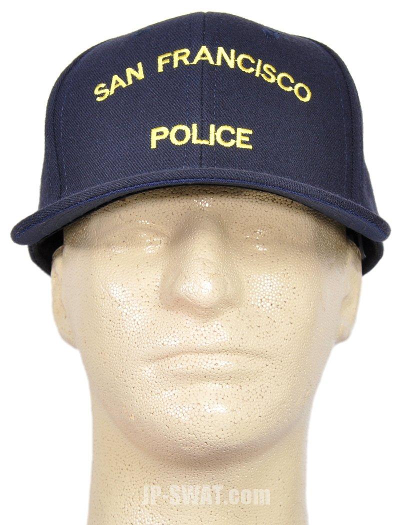 SFPD (サンフランシスコ市警) オフィシャル キャップ