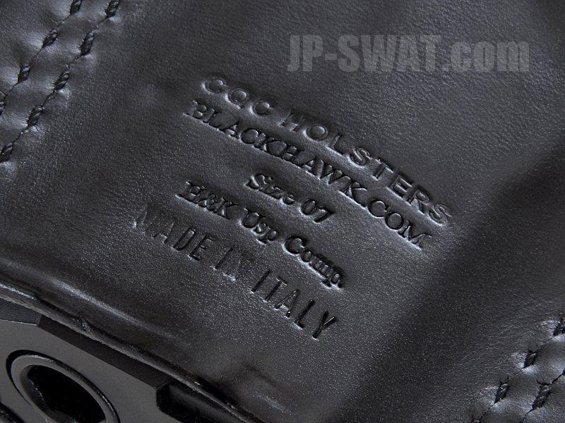 BLACKHAWK!(ブラックホーク) レザー 3スロット パンケーキ ホルスター