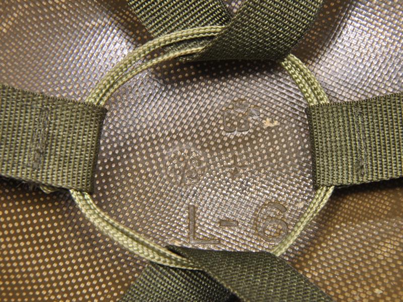 米軍制式採用 PASGT(地上部隊個人防護システム)防弾ヘルメット UNICOR社製 ロサンゼルス郡保安局(LASD)放出品