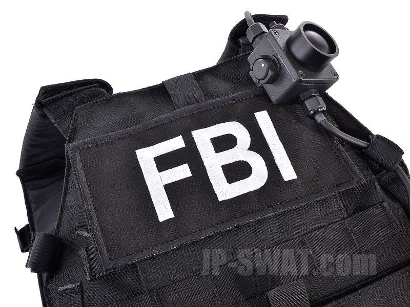 LBT(ロンドン・ブリッジ・トレーディング) LBT-2100E  FBI  ロー・エンフォースメント・パッチ 8x4