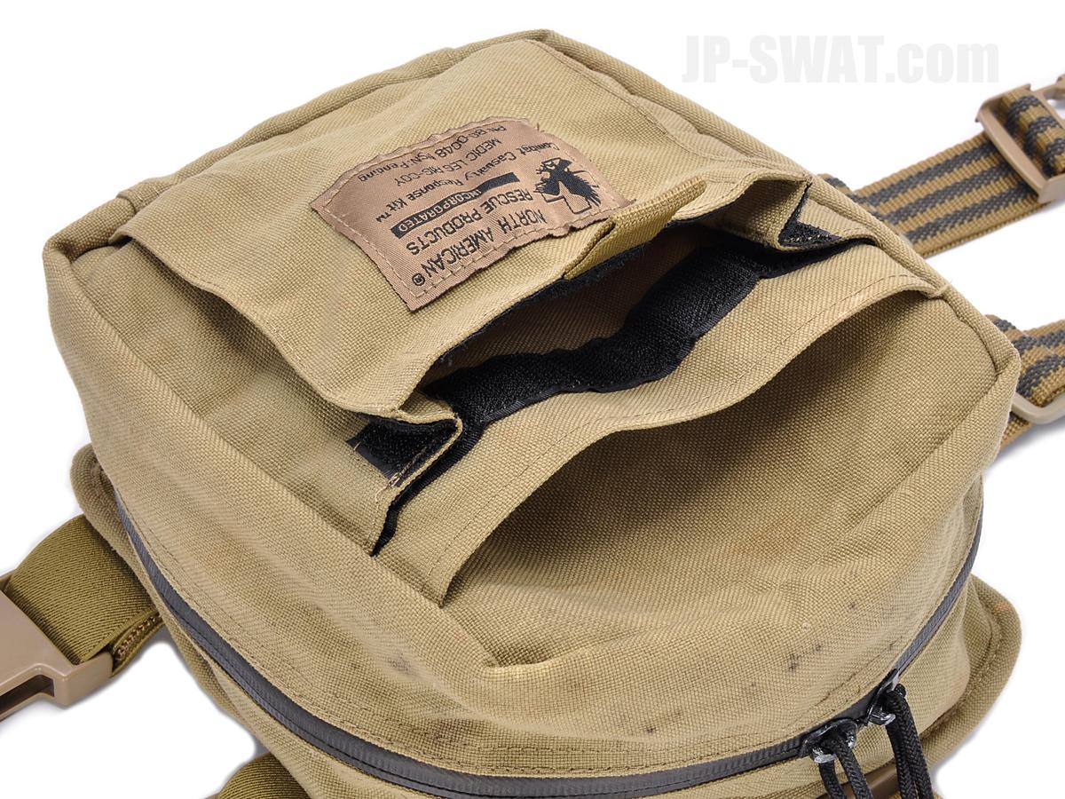 ノース・アメリカン・レスキュー(North American Rescue:NAR) コンバット・カジュアルティ・レスポンス・バッグ(Combat Casualty Response Bag MEDIC LEG RIG COY)