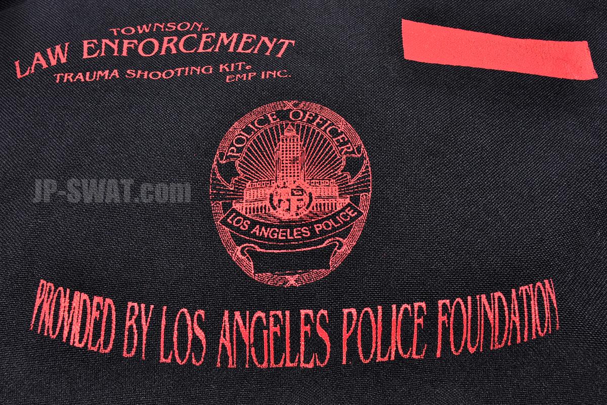 ロサンゼルス市警察(LAPD)制式採用 ロー・エンフォースメント・トラウマ・シューティング・キット(Townson Law Enforcement Trauma Shooting Kit)