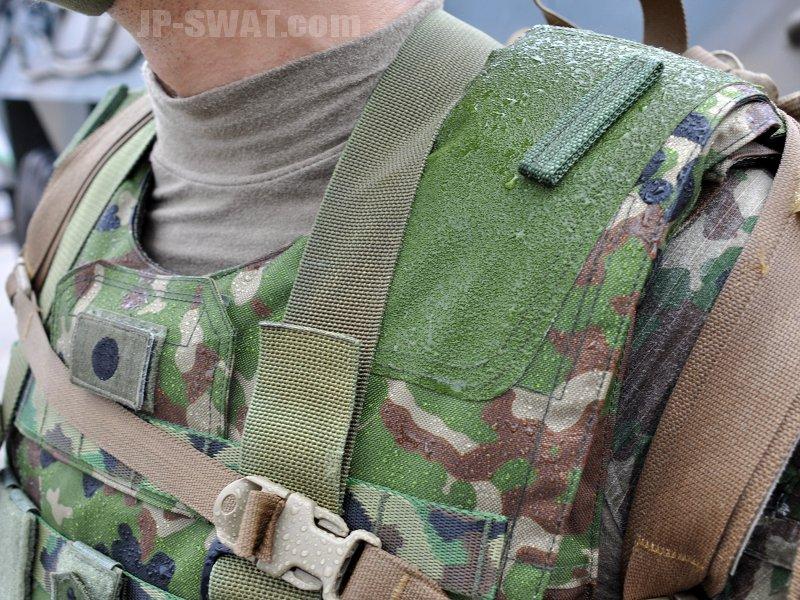 陸上自衛隊 普通科隊員の個人装備