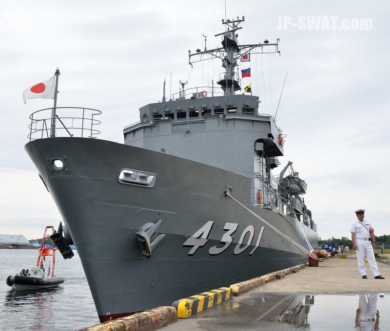 平成28年9月24日 海上自衛隊 ひゅうが型ヘリコプター搭載護衛艦 DDH-181 「ひゅうが」 一般公開