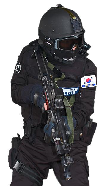 韓国警察特攻隊(KNP-SWAT)