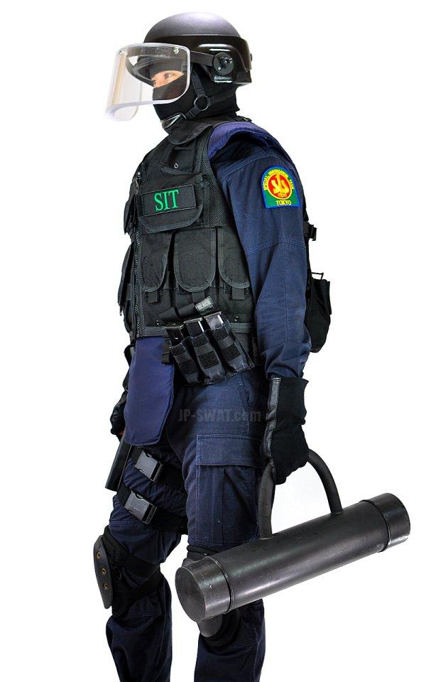 警視庁刑事部捜査第一課特殊犯捜査係(SIT) IDパッチ・パネル Lサイズ 複製品