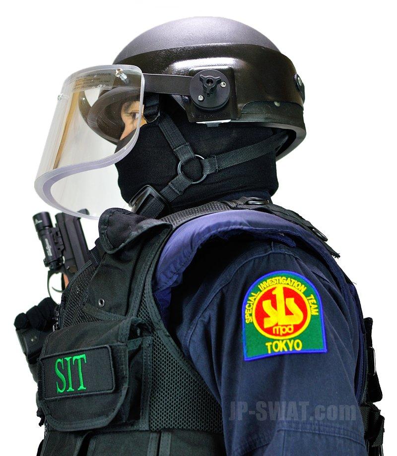 警視庁刑事部捜査第一課特殊犯捜査係(SIT) IDパッチ・パネル Sサイズ 複製品