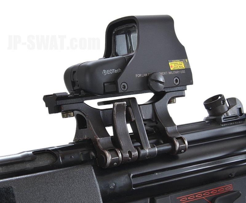 G3/MP5シリーズ対応 H&K社製 スコープ用クロウ・マウント(ピカティニー・レール付き)