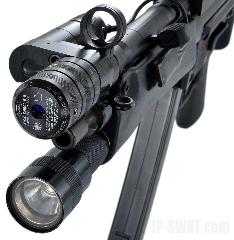 H&K MP5A3 / SUREFIRE L72 Laser Sight