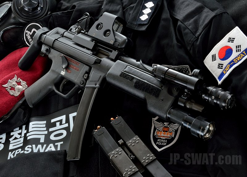 H&K MP5A5 / SUREFIRE L72 Laser Sight