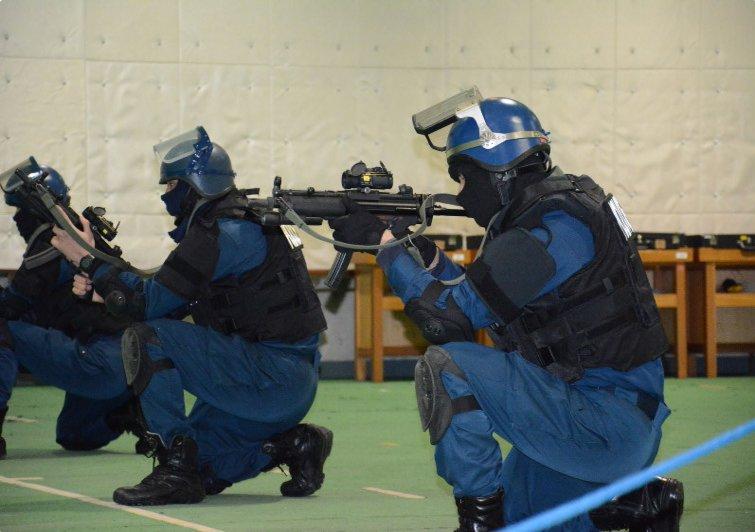 新潟県警察 銃器対策部隊の実弾射撃訓練を公開