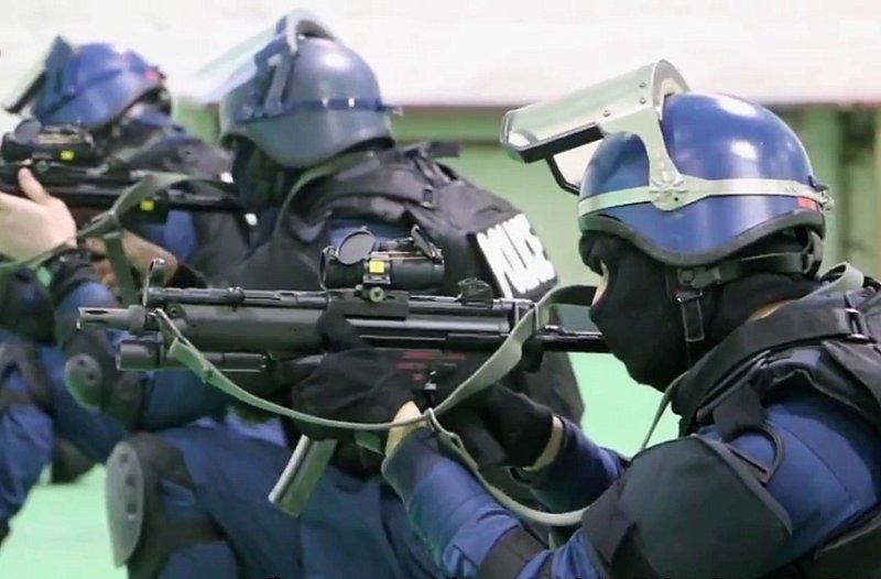 新潟県警察 銃器対策部隊の実弾7射撃訓練を公開