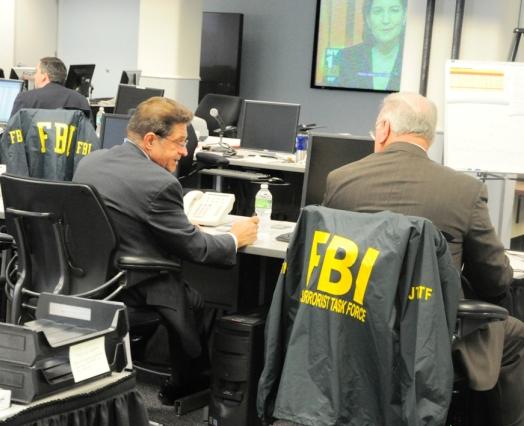 FBI(連邦捜査局) JTTF(統合テロリズム・タスク・フォース)