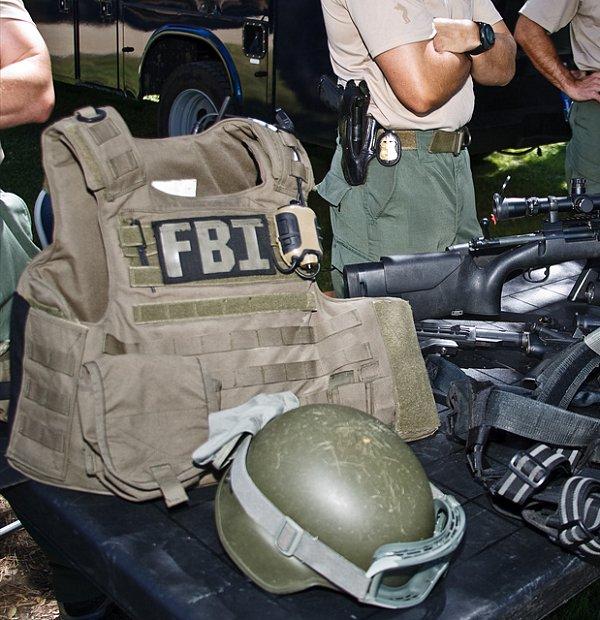 FBI(連邦捜査局) SWAT ベスト用IDパネル・パッチ
